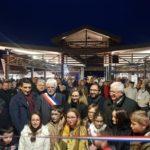Inauguration de place de La Halle