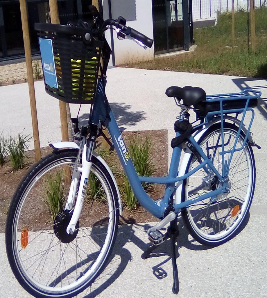 Vélo électrique à votre disposition