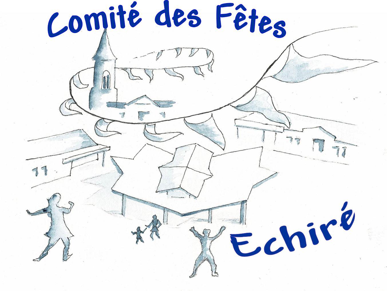 laconciergerie-echire-logo Comité des fêtes échiré